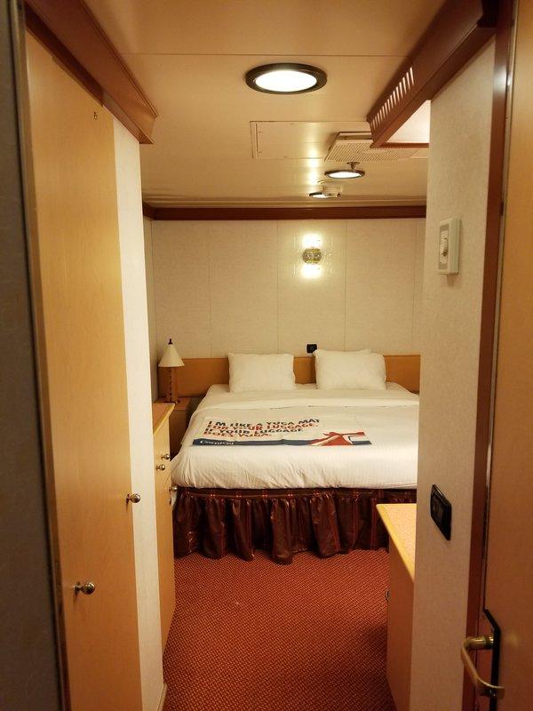 Interior Stateroom Cabin Category 4a Carnival Dream
