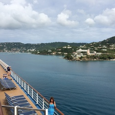View from deck of San Juan