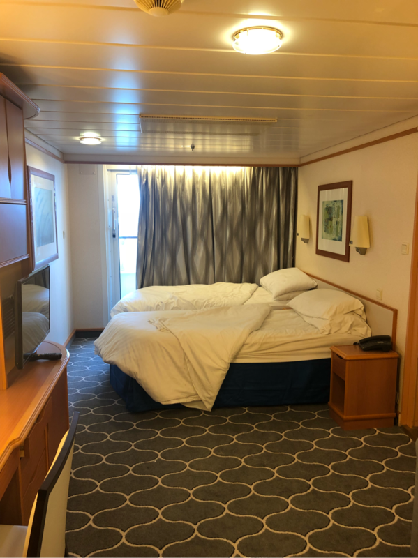Balcony Cabin 8662 On Adventure Of The Seas Category 4b