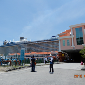 Ovation of the Seas in Penang