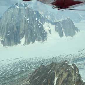 Flightseeing around Mt McKinley with Rust's Flight Services