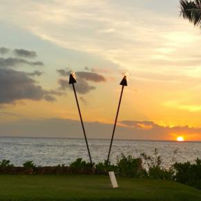 Luau at Sunset