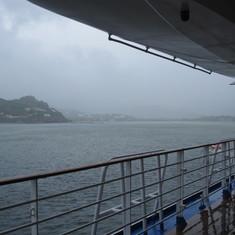 San Juan Del Sur from deck 7