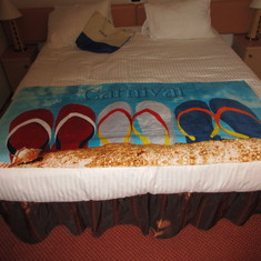 Towel from Family Beach Package