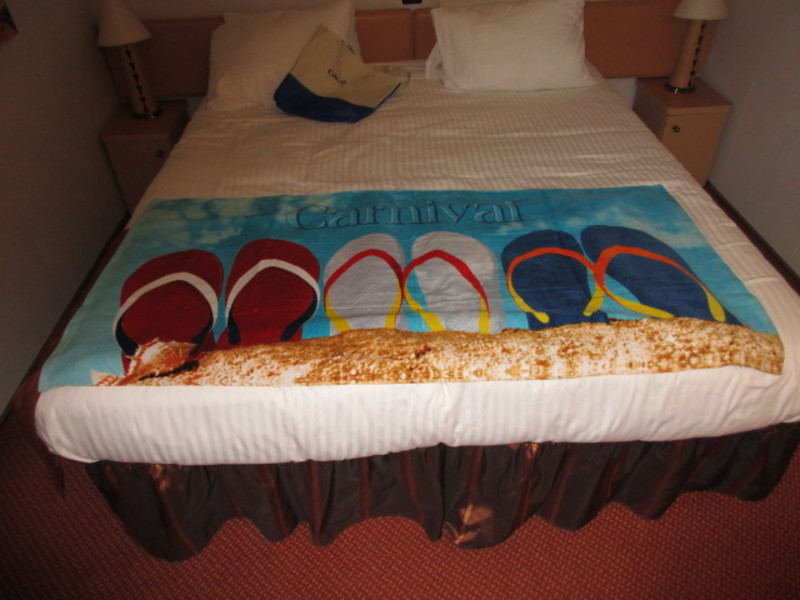 Port Canaveral, Florida - Towel from Family Beach Package
