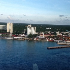 Cozumel from ship