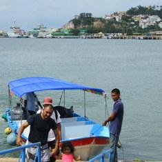 Stone Island water taxi