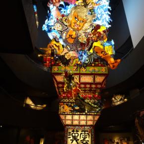 Festival float at the museum in Goshogawara, Aomori prefecture,Japan