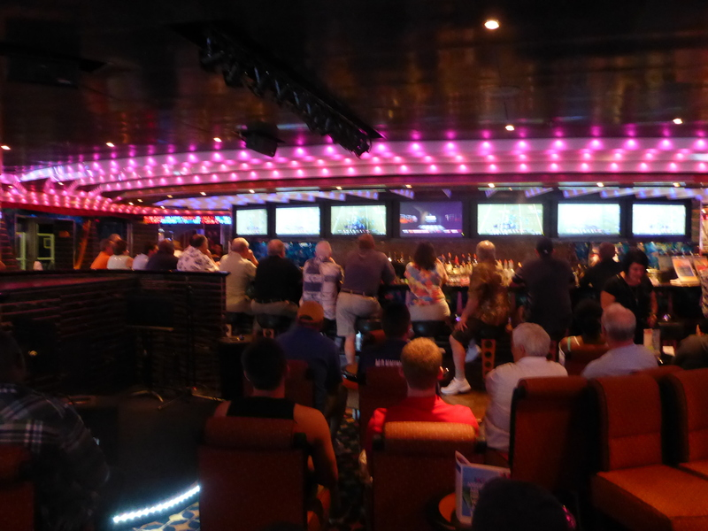 Bar Lounge - Carnival Dream