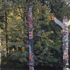 Totem Pole Park in Vancouver