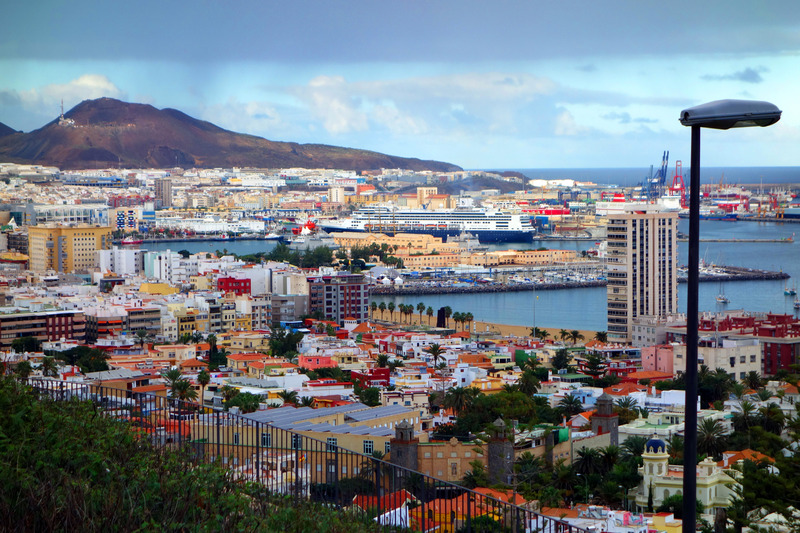 Photo of rotterdam cruise on dec 22 2012 holland america 39 s ms - Port of las palmas gran canaria ...