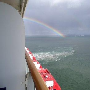 Rainbow in Cobh
