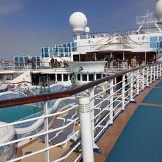 On deck!