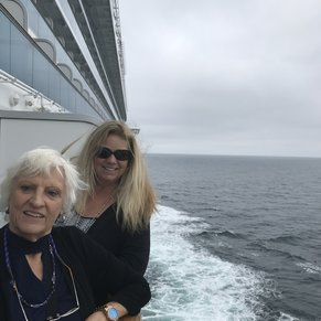 At Sea with Mom