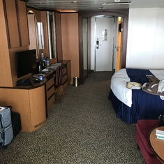 Large comfortable cabin.