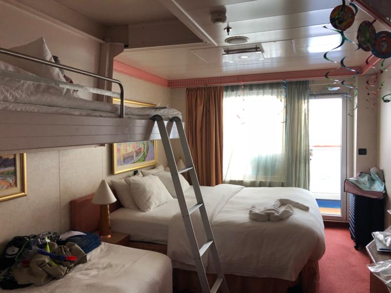 Balcony Stateroom, Cabin Category 8B, Carnival Splendor