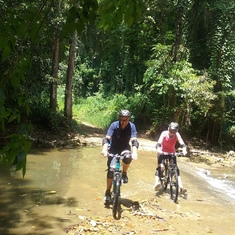 Mountain biking in Jamaica