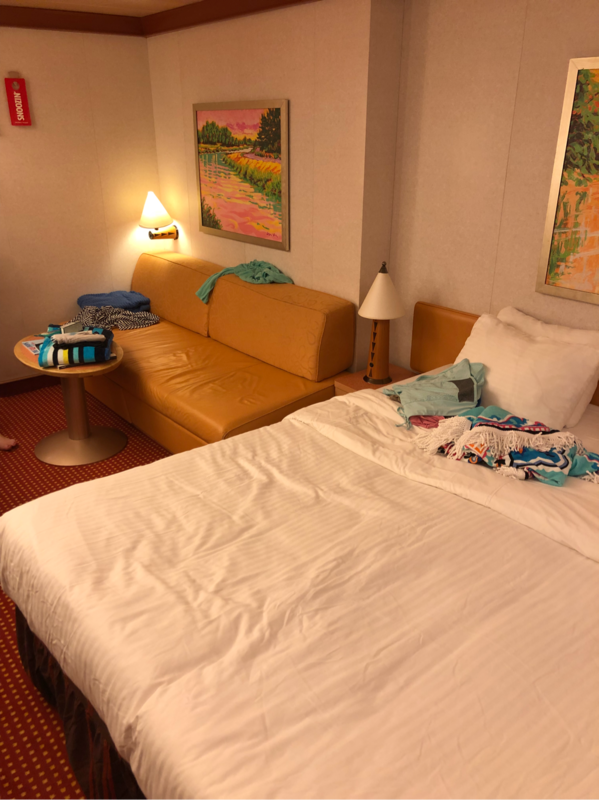 Sleep Number Bed Prices King Size >> Interior Stateroom, Cabin Category 4J, Carnival Dream