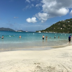 Tortola, British Virgin Islands - Beach in Tortola