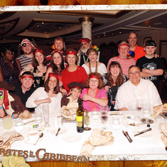 Our group on Pirate night