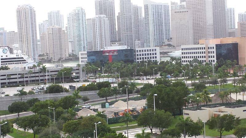 Miami, Florida - leaving Port of Miami