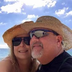 Beach time in Cozumel
