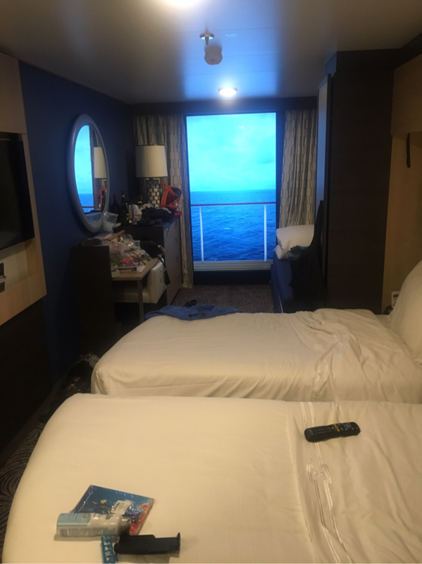 Large interior stateroom with virtual balcony cabin for Anthem of the seas inside cabins