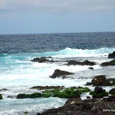 Beautiful coastline of Santiago, Cape Verde