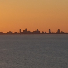 Tampa, Florida - St Petersburg, FL skyline