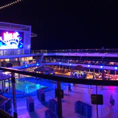 Carnival''s Seaside Theatre on Carnival Vista