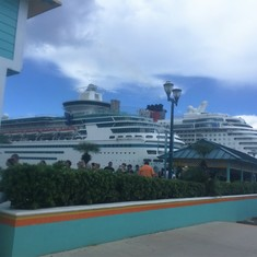Nassau, Bahamas - on our back to the ship