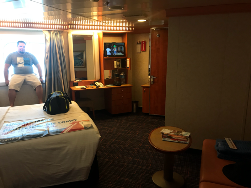 Oceanview Cabin 2477 On Carnival Freedom Category 6b