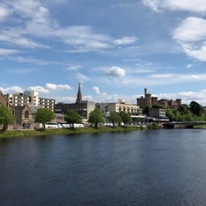 Beautiful day in Inverness