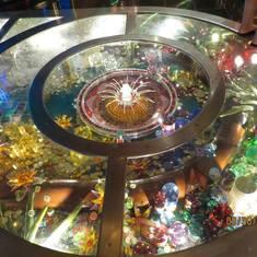The floor in the casino