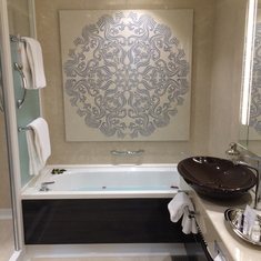 Bathroom in Haven suite