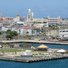 San Juan as seen from our ship