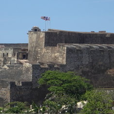 TheSan Cristobal  Fort as seen from Old San Juan