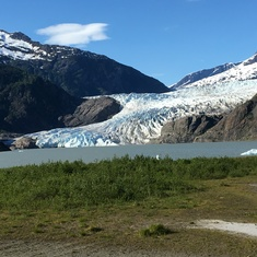 Mendahall Glacier