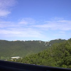 Charlotte Amalie, St. Thomas - A View of the Mountains @ St. Thomas