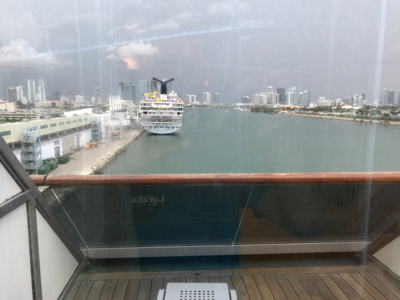 Aft-View Extended Balcony Stateroom, Cabin Category 8M ...