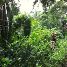 Belize City, Belize - Zip Lining in Belize