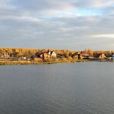 Cruising the Volga