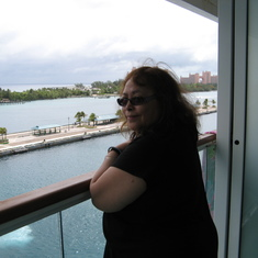 Nassau, Bahamas - Nice to have a balcony!