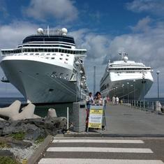 At Tallinn Port
