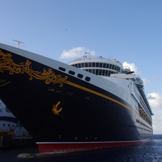Disney Magic in Cozumel