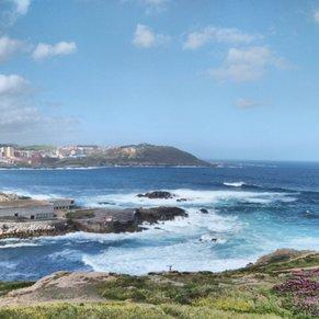 La Coruna coastline