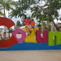 Cozumel Welcome Sign