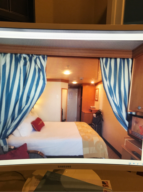 Deluxe Oceanview Stateroom With Verandah Cabin Category