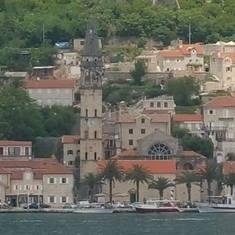 Arriving in Kotor