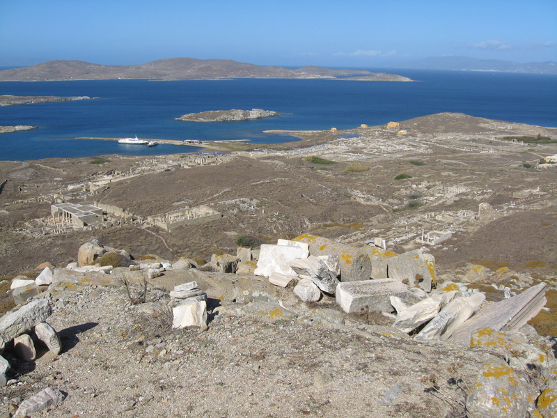 Island of Delos--Ancient ruins--Greece - Seven Seas Mariner